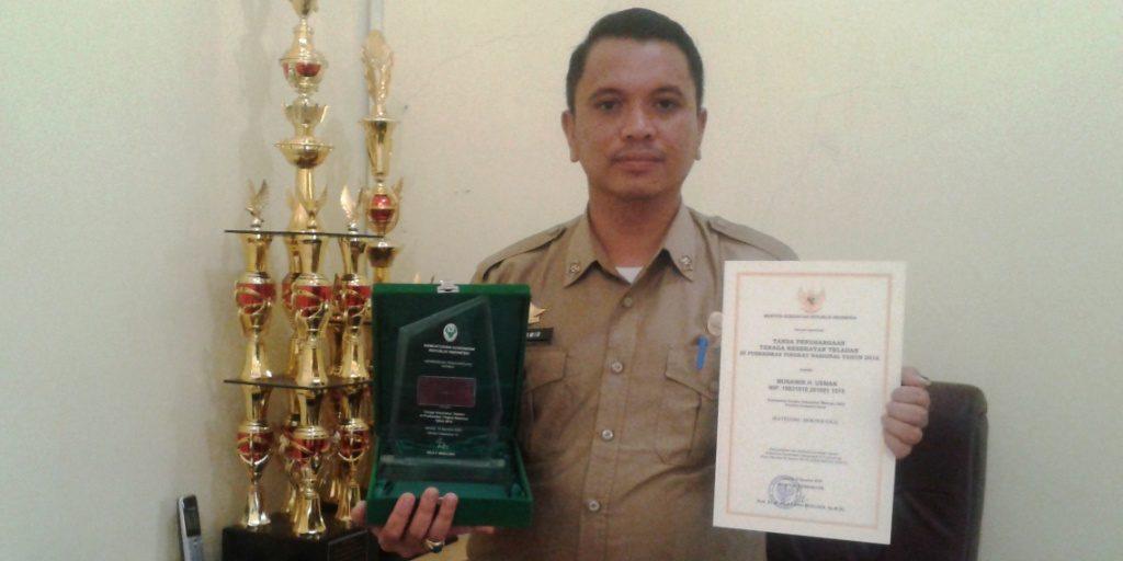 Direktur RSUD Mamuju Utara drg. Munawir Usman. (Foto: Arham Bustaman)