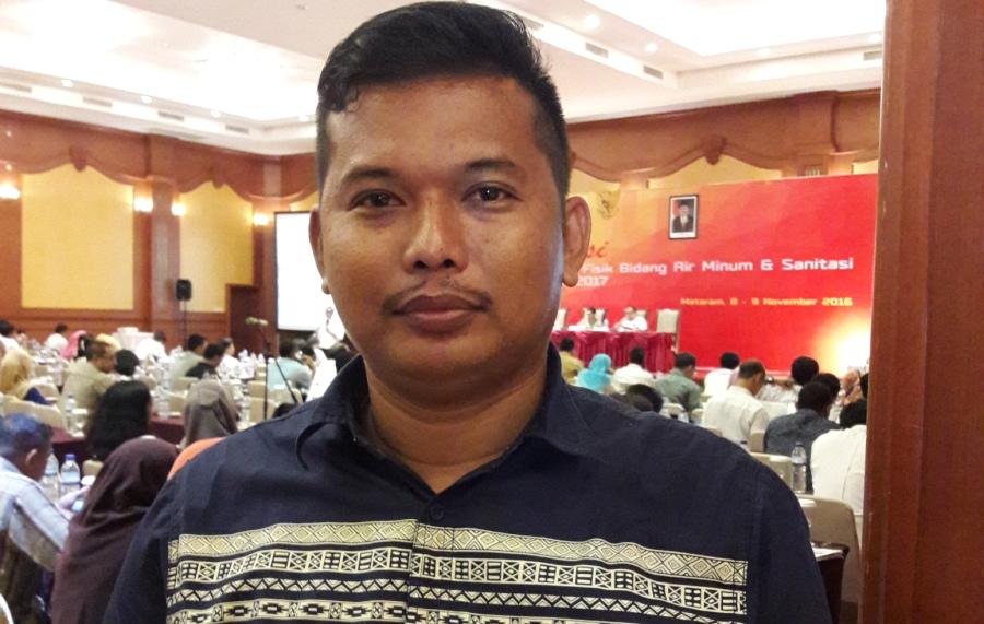 Kepala Bidang Cipta Karya Dinas PU Matra, Sumarlin. (Foto: Ist.)
