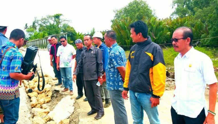 Kabid Bina Marga Pupr Optimis Jembatan Pangiang Rampung Sesuai Kontrak Transtipo