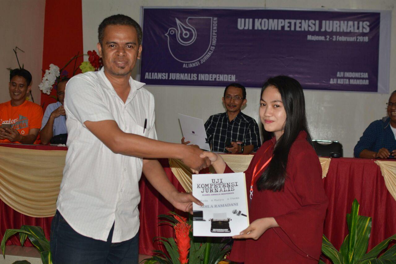 AJI Kota Mandar Sukses Gelar UKJ, Ketua Dewan Pers Ucapkan